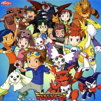Digimon Tamers Best Partner